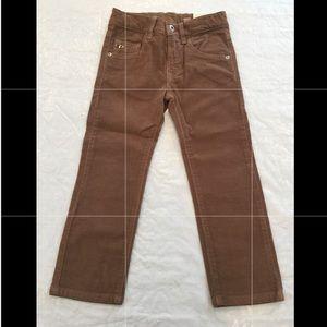 EDDIE PEN**Corduroy Boys Pants Adjustable Waist